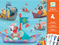 Boats on the water Origami Kit by Djeco