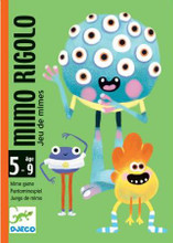 Mimo Rigolo Card Game by Djeco