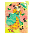 Miss Tigri 60 Piece Mini Jigsaw Puzzle by Djeco