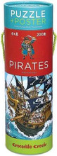 Pirates Poster & 200 Piece Puzzle by Crocodile Creek