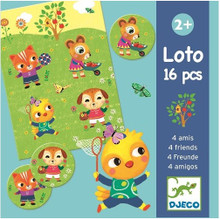 Lotto Four Friends Game by Djeco