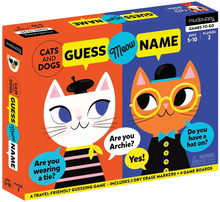 Guess Meow Name Guessing Game to Go by Mudpuppy