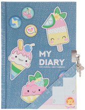 Lockable Sweet Treats Diary by Tiger Tribe