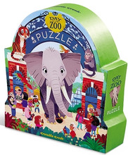 Day at the Zoo 48 Piece Floor Puzzle by Crocodile Creek