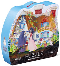 Once Upon a Puzzle Snow White 48 Piece Puzzle by Crocodile Creek