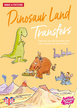 Dinosaur Land Transfer Activity Pack by Scribble Down