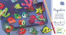 Magnetic Coloured Fishing Game by Djeco Packaging