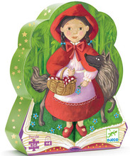 Little Red Riding Hood 36 Piece Jigsaw Puzzle by Djeco