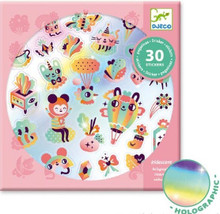 Lovely Rainbow Holographic Stickers by Djeco