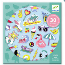 California Puffy Stickers by Djeco