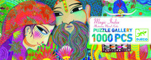 Magic India Puzzle Gallery 1000 Piece Jigsaw Puzzle by Djeco