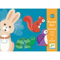 Articulo Animals Puzzles Duo by Djeco