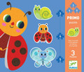 In The Garden 3, 4, and 5 piece  Primo Puzzles by Djeco