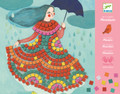 Party Dresses Mosaic Kit by Djeco