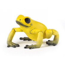 Equatorial Yellow Frog Figure by Papo