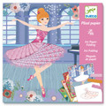 Dancers Iris Paper Folding Craft Kit by Djeco