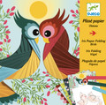 Birds Iris Paper Folding Craft Kit by Djeco
