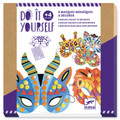 Do It Yourself Jungle Animal Face Masks by Djeco