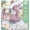 Under The Sea Colouring Surprise Cards by Djeco