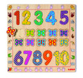 Wooden Puzzle Number 1 - 10 by Djeco