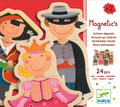 Wooden Magnetic Dressed-Up Children by Djeco