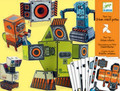 Urban Robots Paper Toys by Djeco