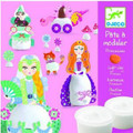 Princesses Light Clay Modelling Kit by Djeco