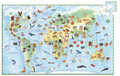 World Animals 100 Piece Observation Jigsaw Puzzle by Djeco