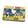 Mixed Up Zoo Magnetic Design Set by Mudpuppy Tin