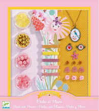 Pearls and Flowers Jewellery Making Kit by Djeco