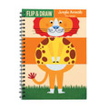 Jungle Animals Flip & Draw by Mudpuppy