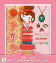 Beads and Bows Jewellery Making Kit by Djeco