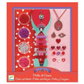 Beads and Hearts Jewellery Making Kit by Djeco