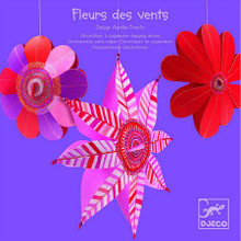 Flowers of the Wind Hanging Decorations by Djeco