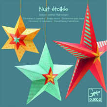 Stars Hanging Decorations by Djeco