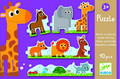Small and Big Animal Jigsaw Puzzle by Djeco