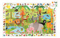 Jungle Observation 35 Piece Jigsaw Puzzle by Djeco