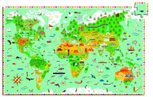 Monuments of the World 200 Piece Observation Jigsaw Puzzle by Djeco