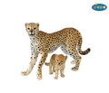 Cheetah with cub Figure by Papo