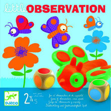 Little Observation (Butterflies) Game by Djeco Box
