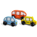 WoodenFunny Cars by Vilac