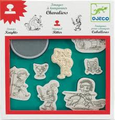 Knights Stamps by Djeco