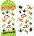 Creepy Crawlies Tattoos by Peaceable Kingdom