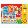 Elephant and Snail Mosaics by Djeco