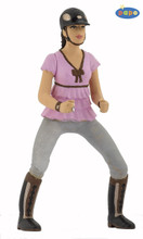 Trendy Riding Girl Figure by Papo