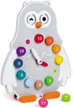 Learn to Tell Time Owly Clock by Janod