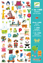 Stickers for Tiny Tots by Djeco