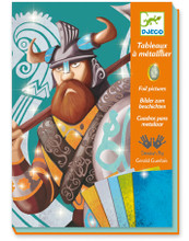 Foil Pictures Vikings by Djeco