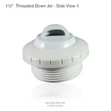 Downjet Threaded | 004-252-3032 | 0042523032 | Includes Faceplate & Downjet Eyeballl