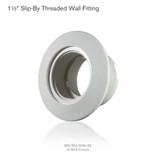Wall Fitting | 005-252-3044 | 0052523044 |  1 1/2' Slip X Thread (6 Pieces)